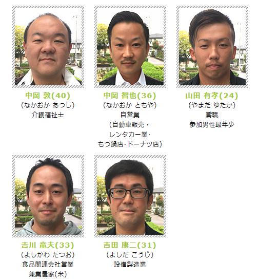 「ナイナイお見合い奈良参加者」の画像検索結果
